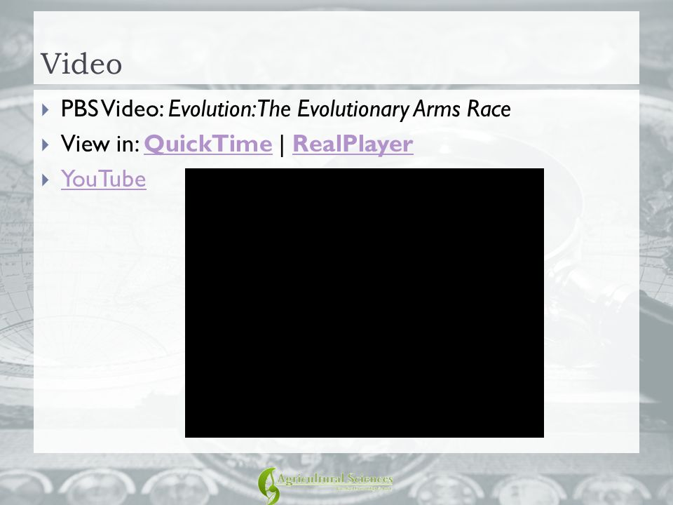 Video PBS Video: Evolution: The Evolutionary Arms Race