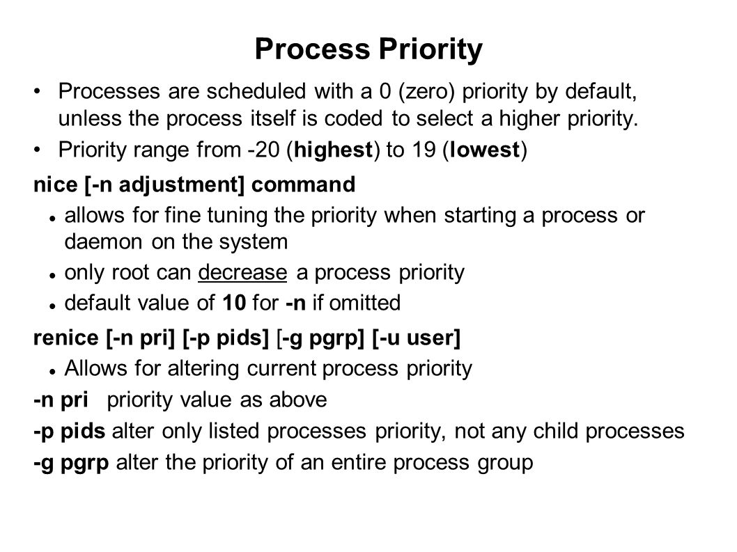 09/23/11 Process Priority.