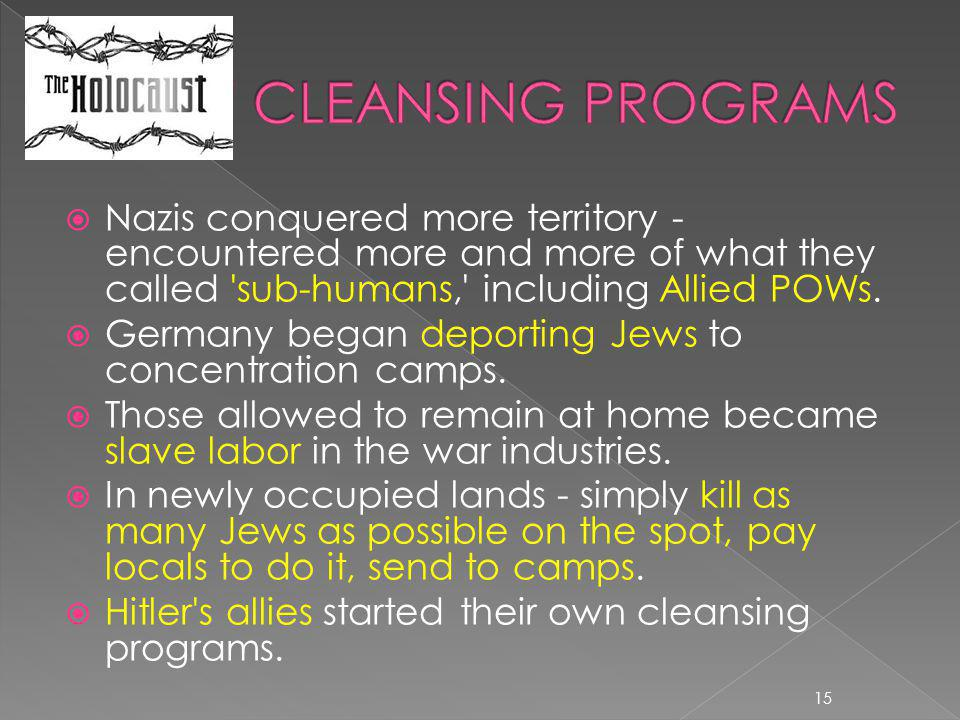 NEW CLEANSING PROGRAMS