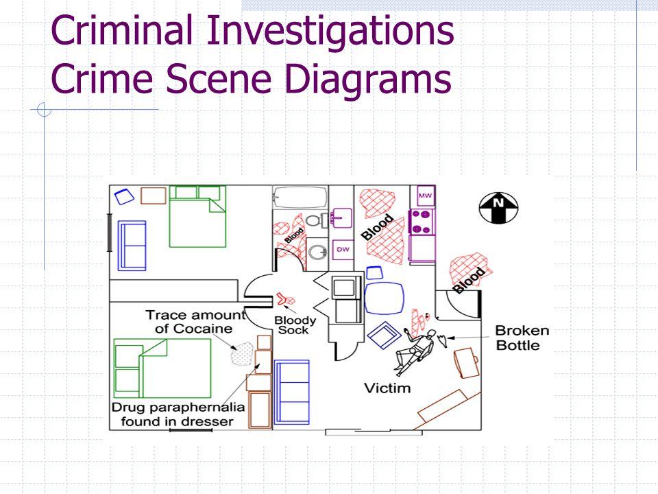 Criminal Investigations Crime Scene Diagrams