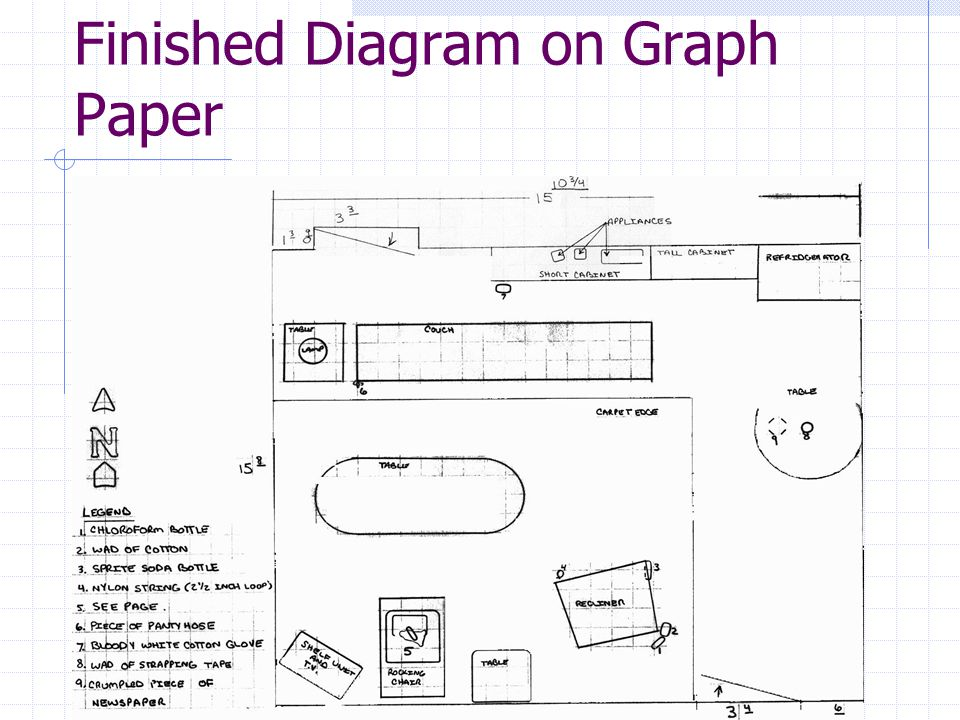Finished Diagram on Graph Paper