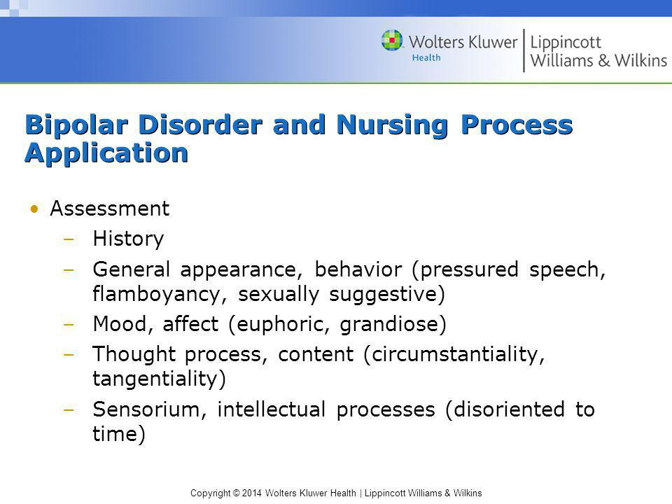 nursing case presentation on bipolar disorder Wwwnursingtimesnet / vol 109 no 5 / nursing times 050213 23 bipolar disorder could work in tandem with a clinical member of staff one participant noted that having a.