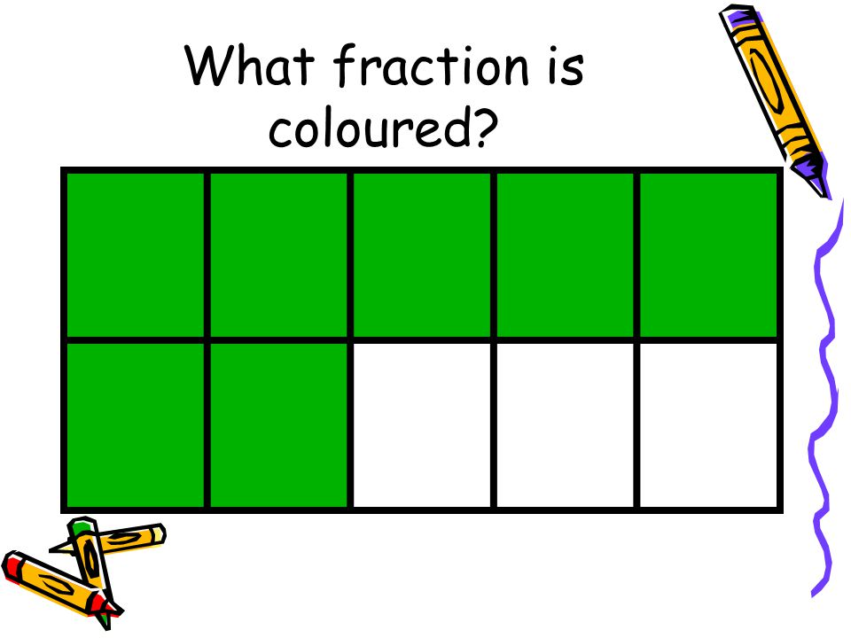 What fraction is coloured
