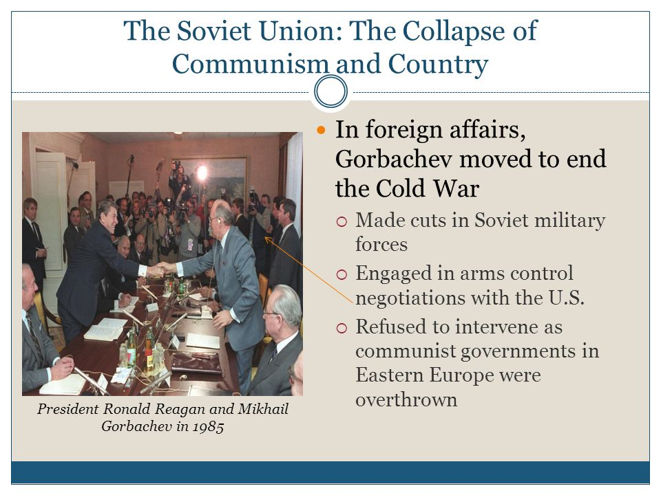 The Soviet Union: The Collapse of Communism and Country