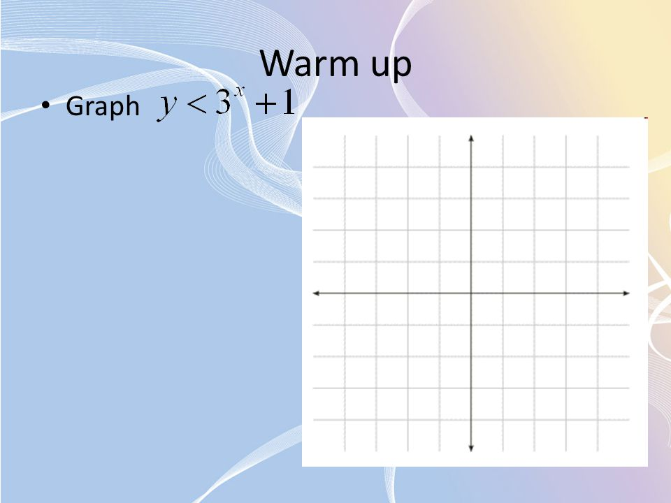 Warm up Graph