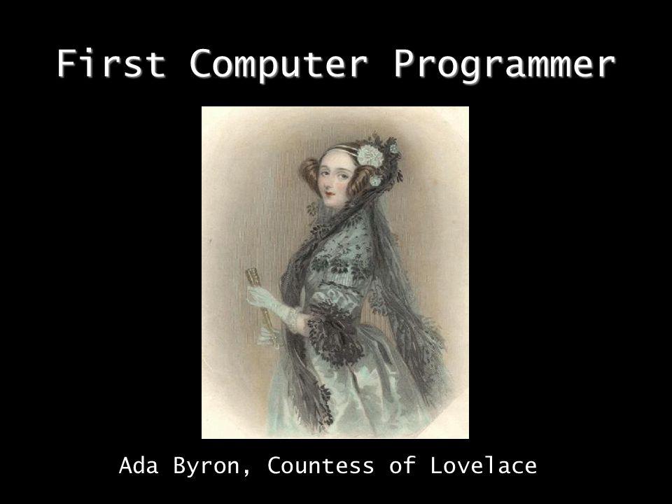 First Computer Programmer