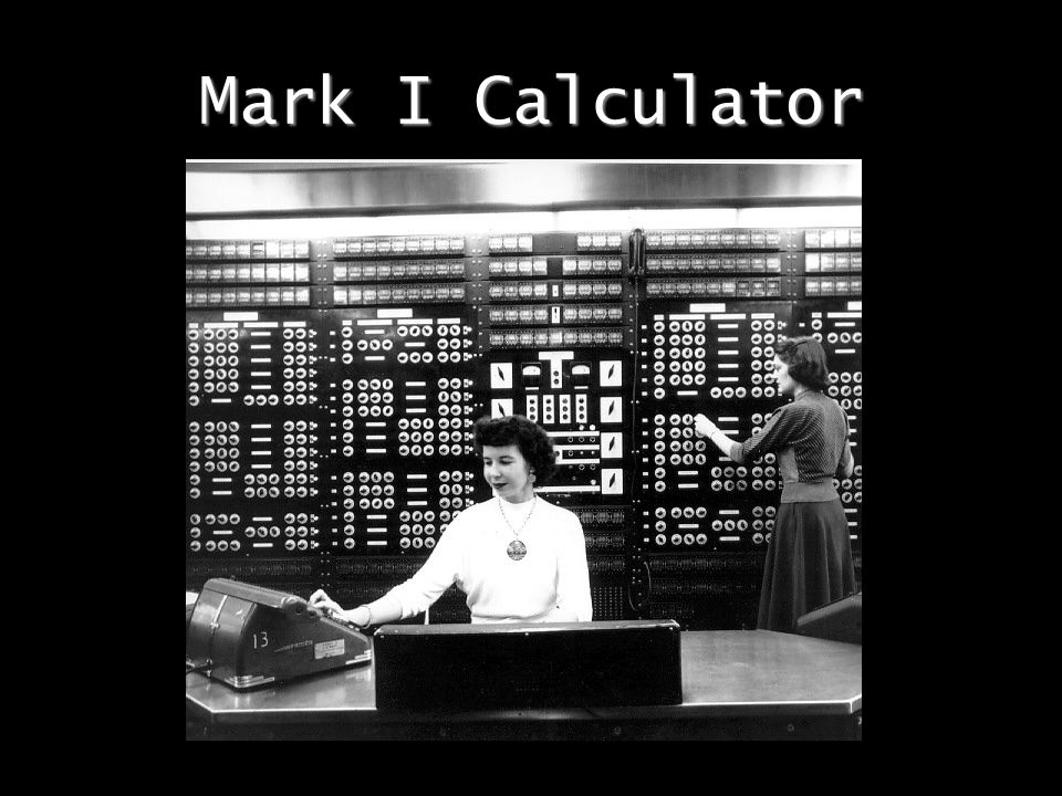 Mark I Calculator