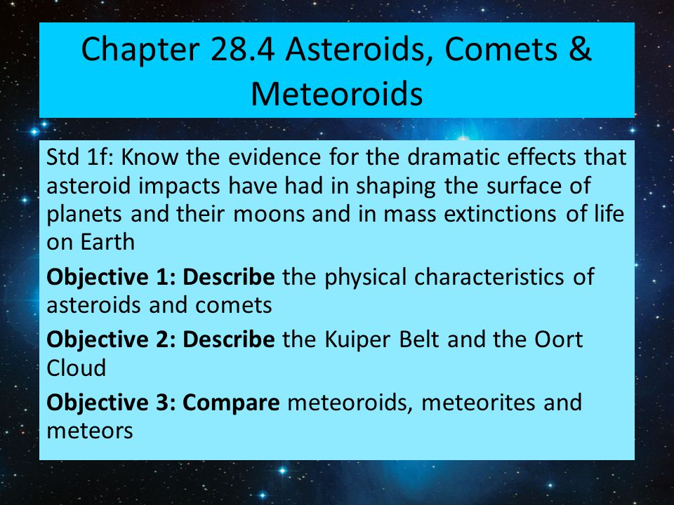 an analysis of the impact of asteroids meteors and comets on earth Meteor and asteroid impacts 30 june is the first asteroid day – part of a new movement to raise awareness of the threat from asteroids and how we can protect ourselves against it.