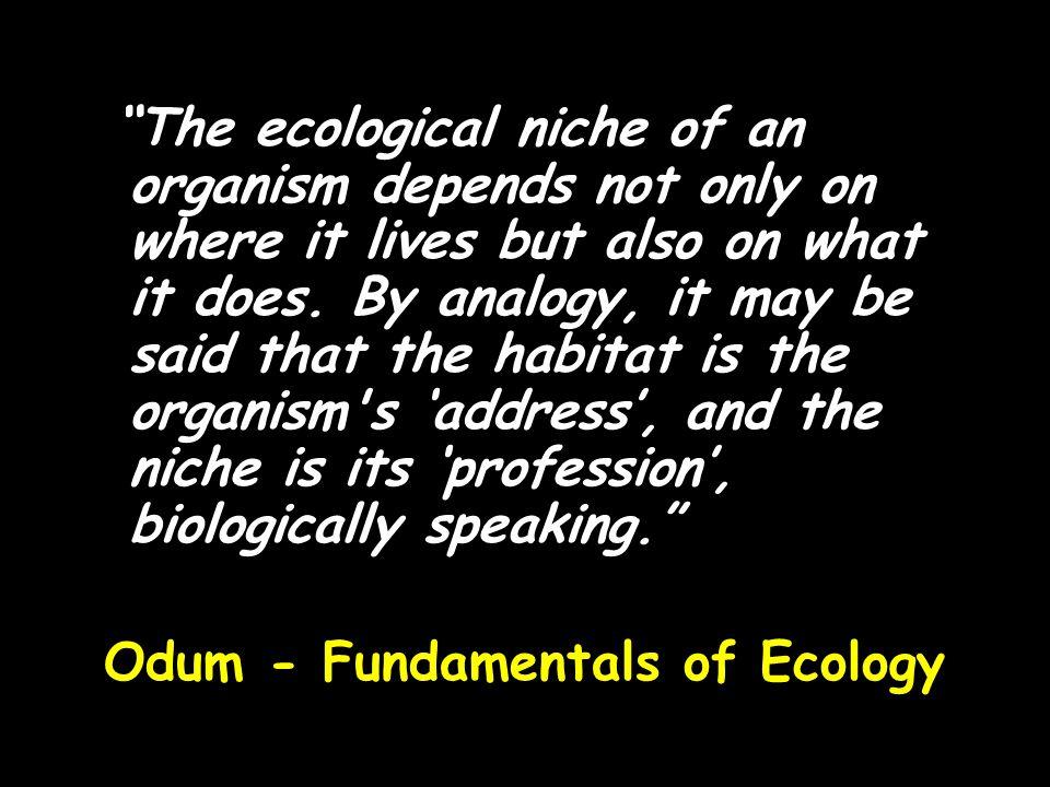 Odum - Fundamentals of Ecology
