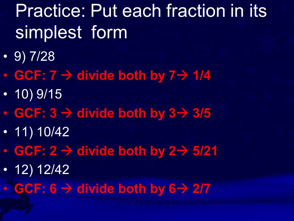 Equivalent Fractions Lesson ppt video online download