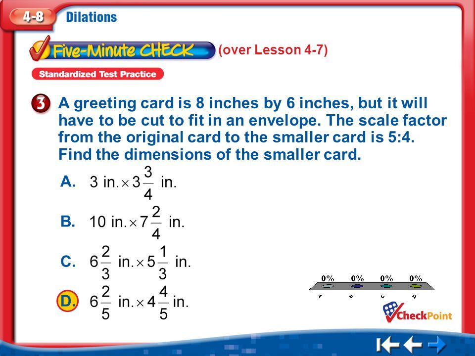 (over Lesson 4-7)