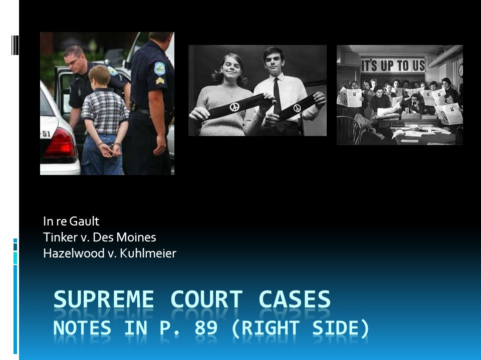 Supreme Court Cases Notes in p. 89 (Right Side)