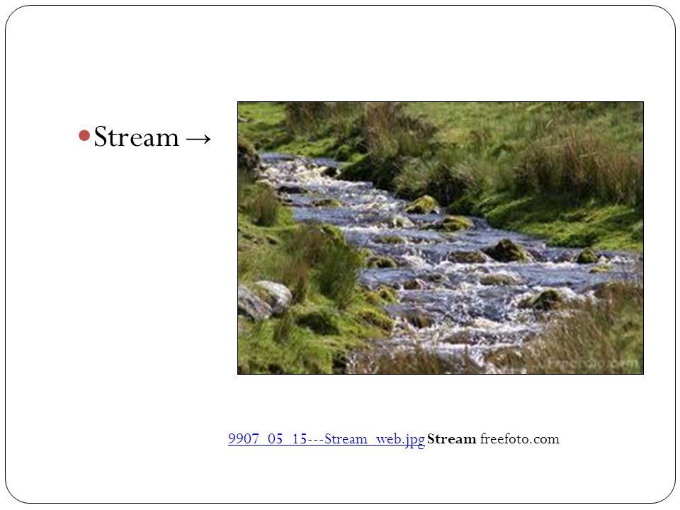 Stream → 9907_05_15‑‑‑Stream_web.jpg Stream freefoto.com