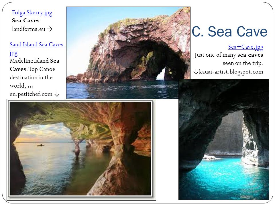 C. Sea Cave Folga Skerry.jpg Sea Caves landforms.eu →