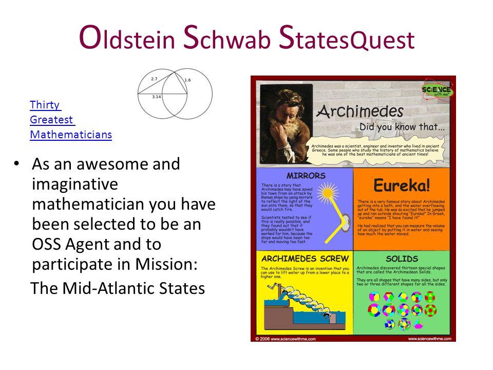 Oldstein Schwab StatesQuest