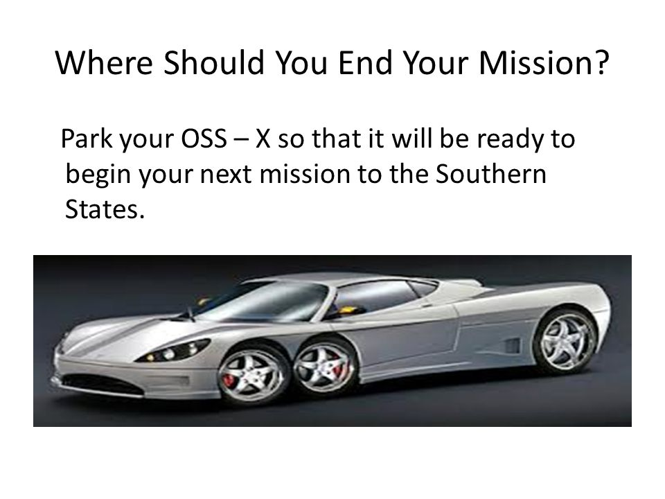 Where Should You End Your Mission
