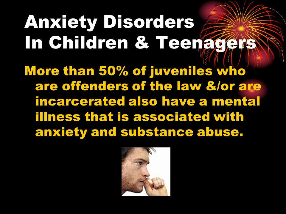 Anxiety Disorders In Children & Teenagers