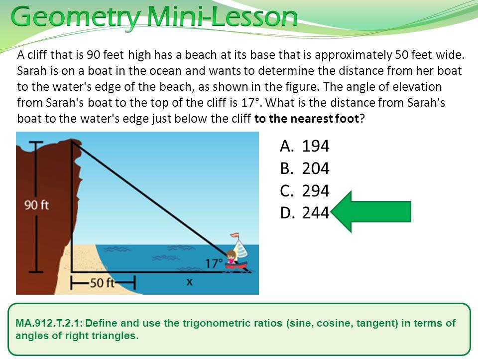 Geometry Mini-Lesson