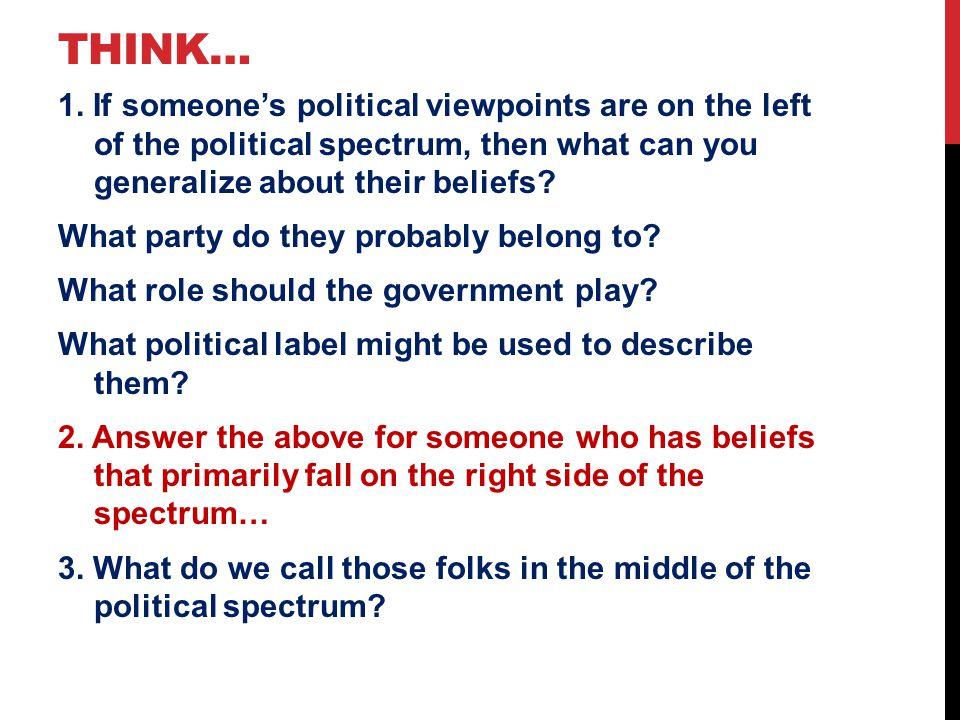 Think…