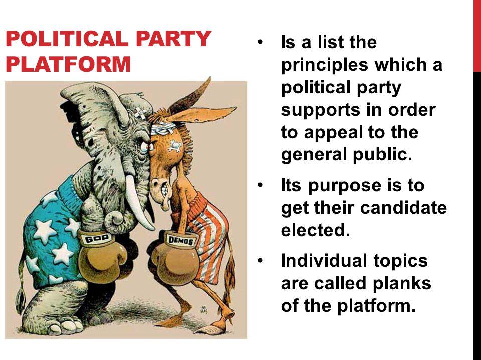 Political Party Platform
