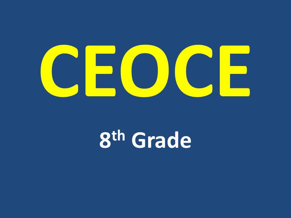 CEOCE 8th Grade