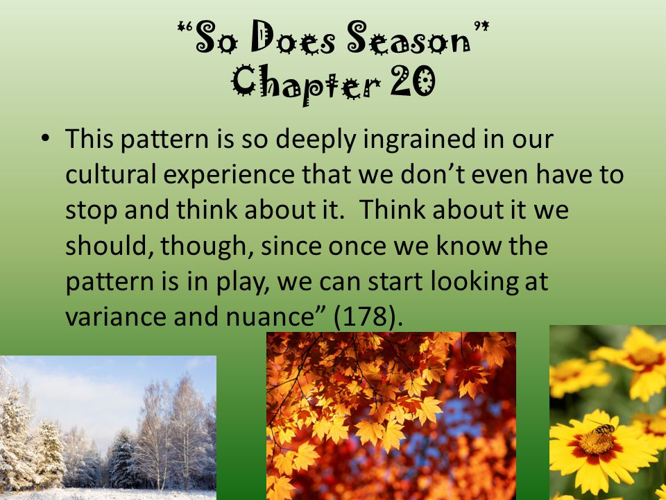 So Does Season Chapter 20