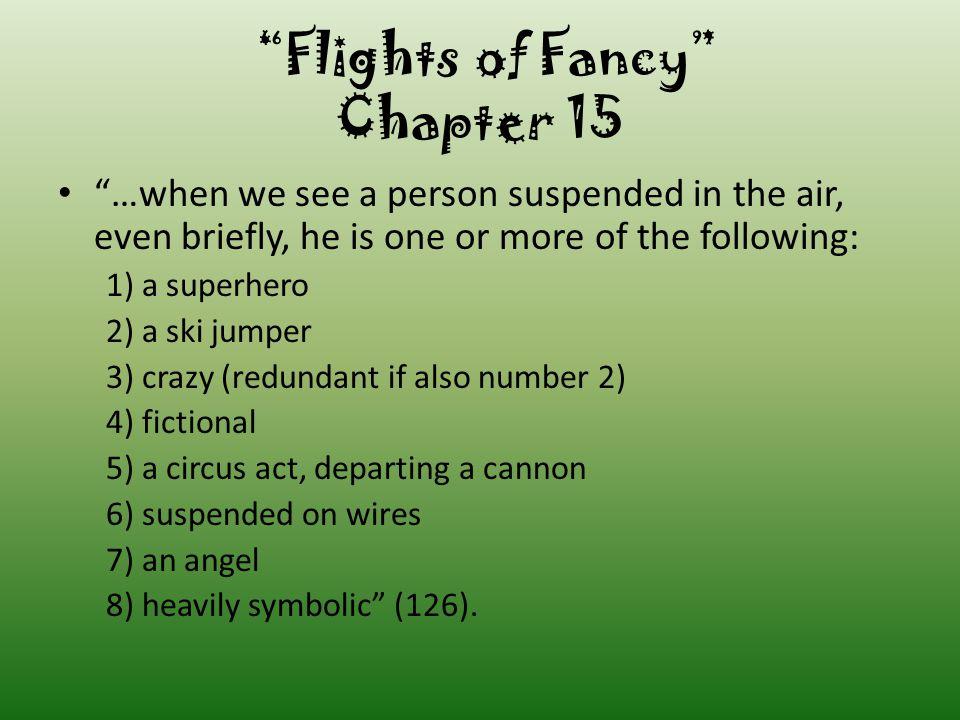 Flights of Fancy Chapter 15