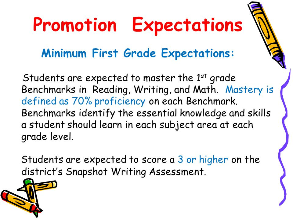 Promotion Expectations