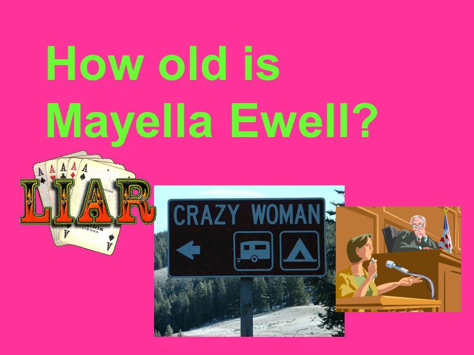 How old is Mayella Ewell