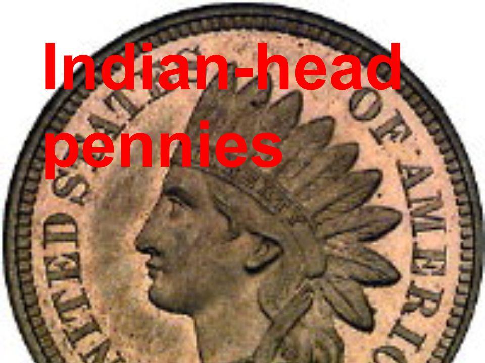 Indian-head pennies