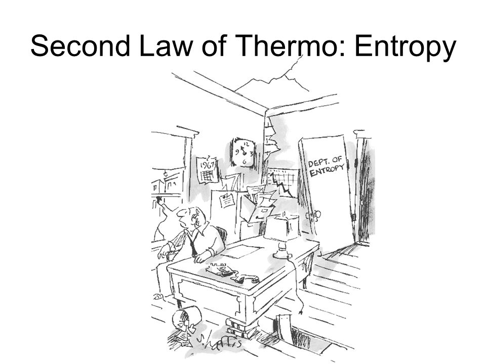 Second Law of Thermo: Entropy