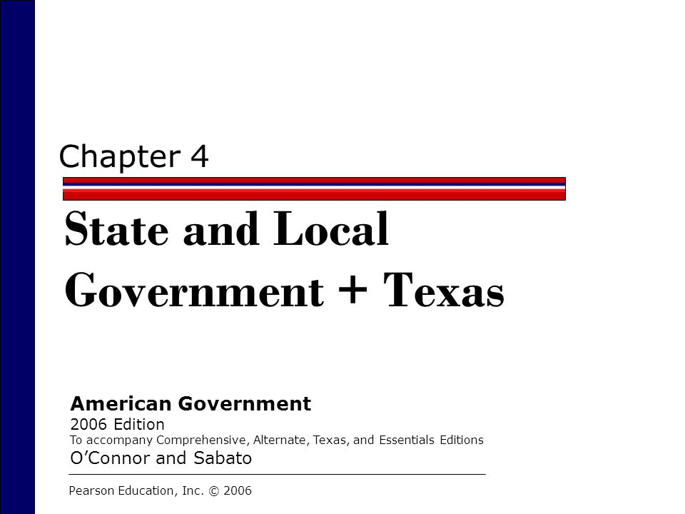 State and Local Government + Texas