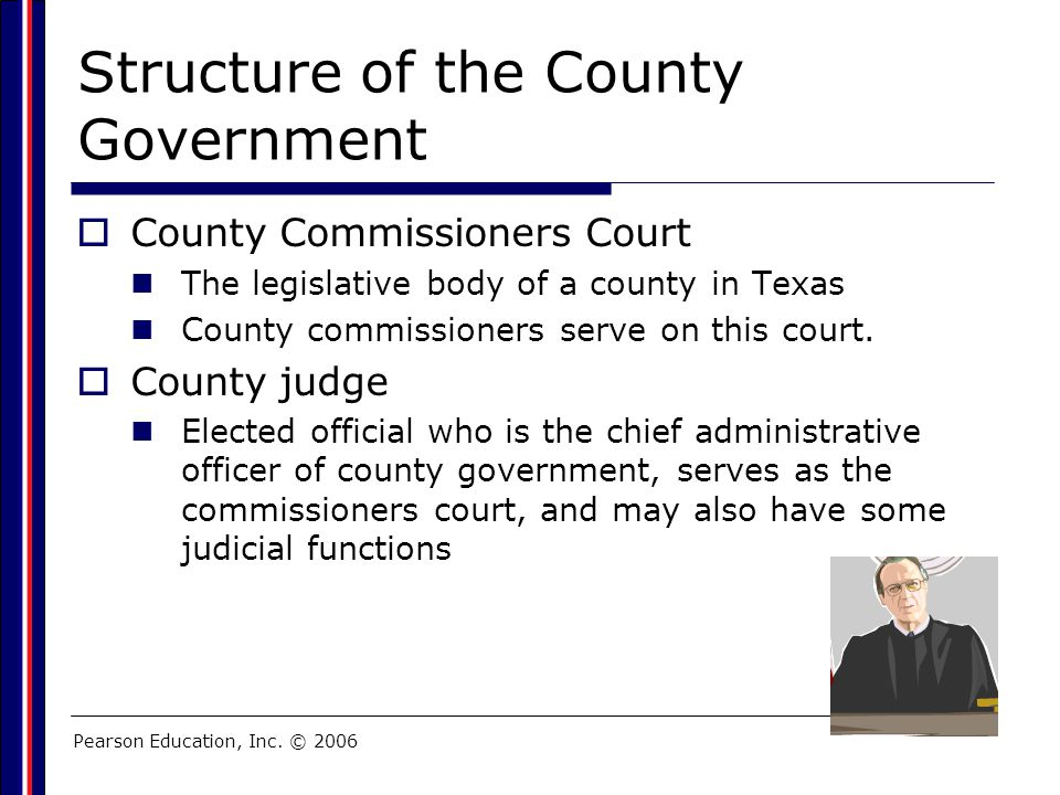 Structure of the County Government