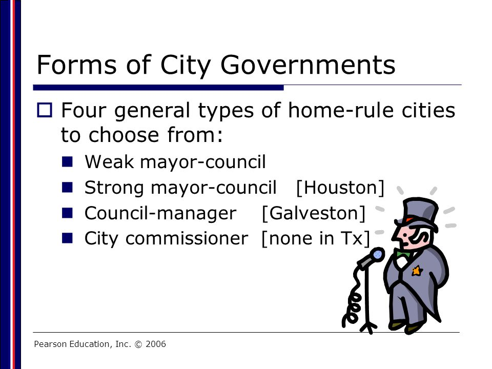 Forms of City Governments