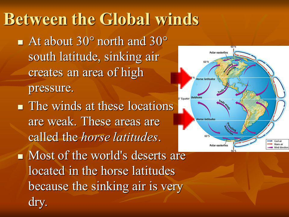 Between the Global winds