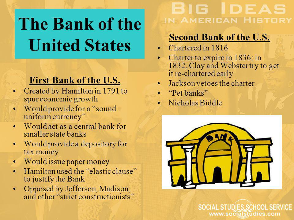 The Bank of the United States
