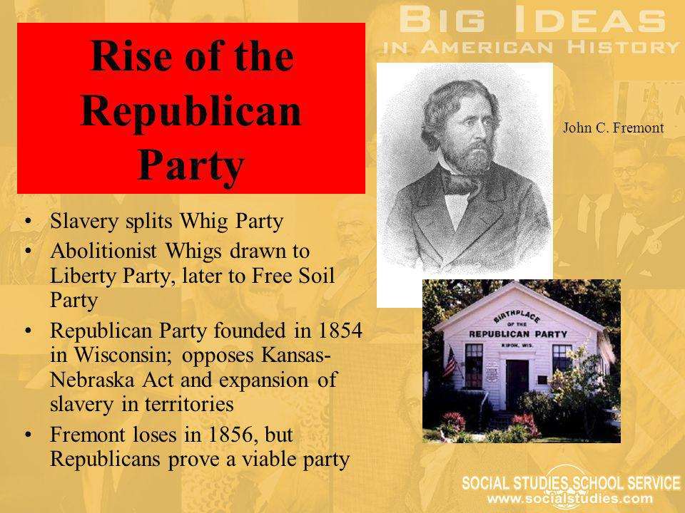 History of the United States Republican Party