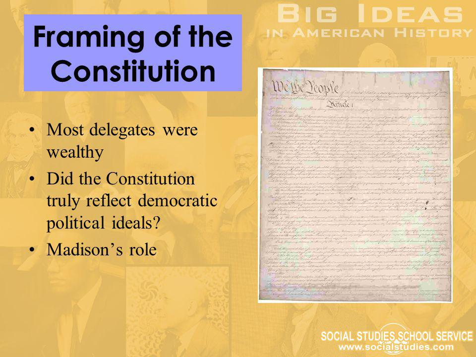 Framing of the Constitution