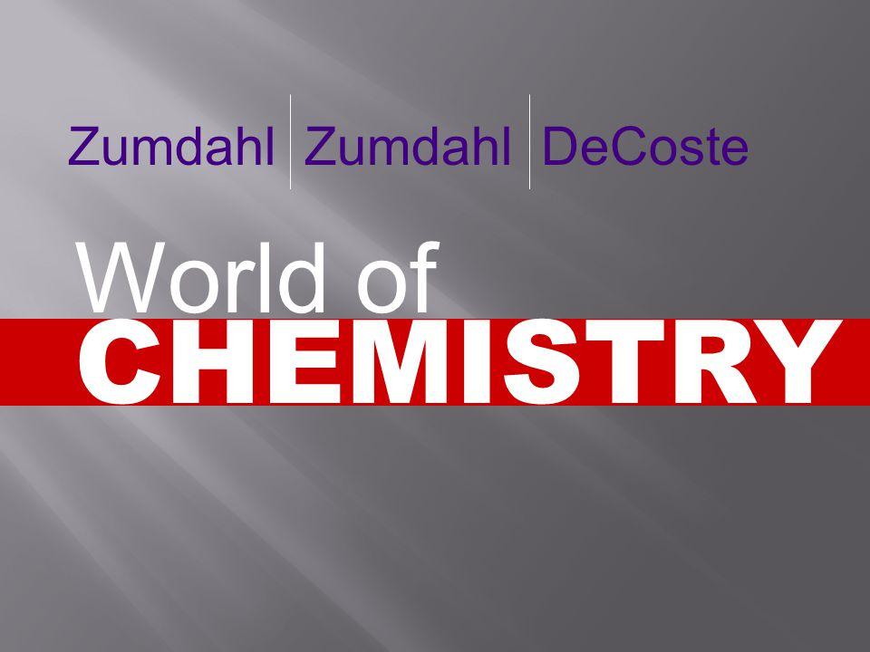 Zumdahl Zumdahl DeCoste