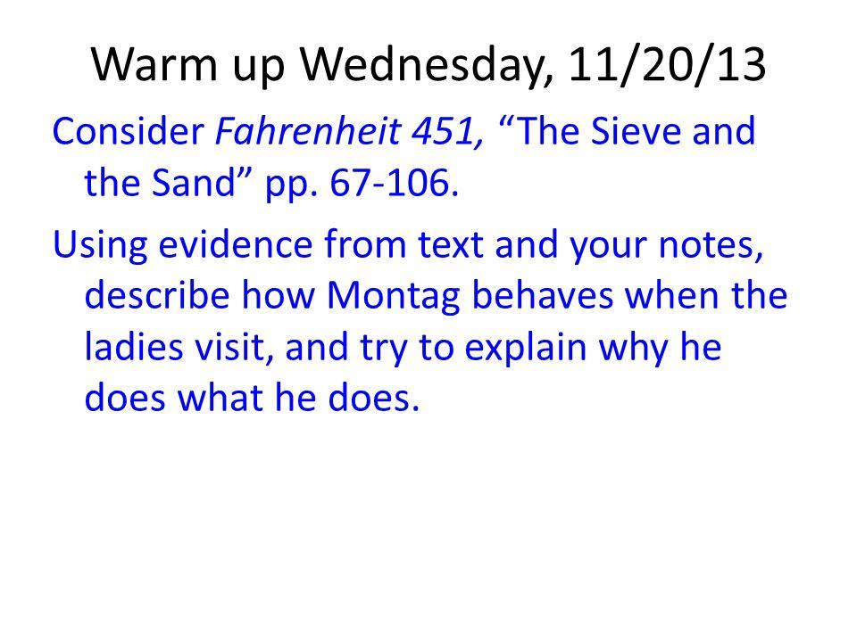Warm up Wednesday, 11/20/13