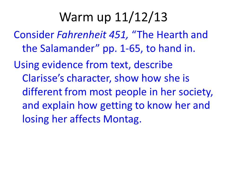 Warm up 11/12/13