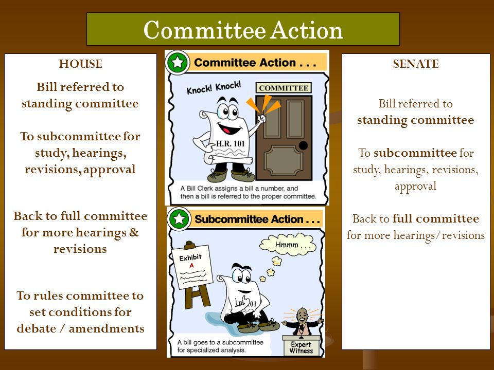 Committee Action HOUSE