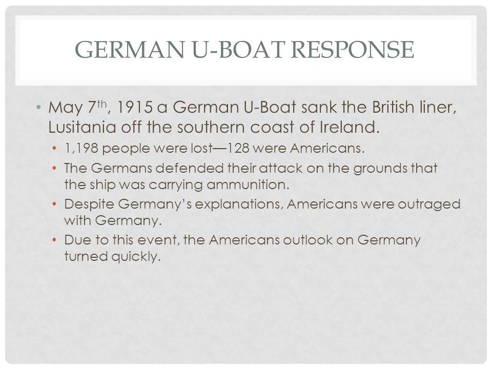 German U-Boat Response