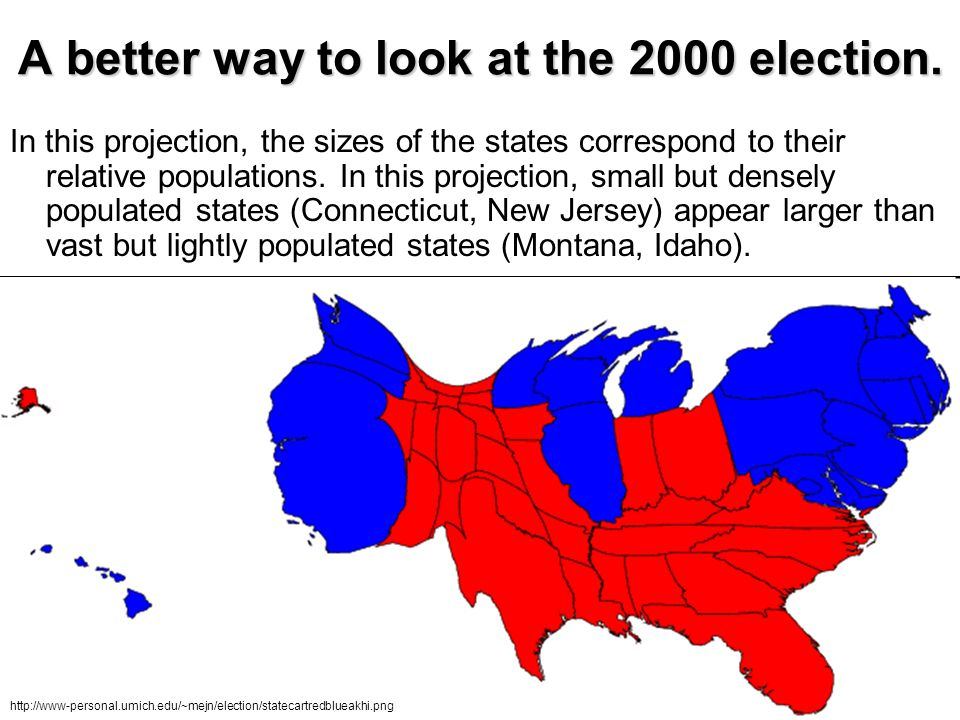 A better way to look at the 2000 election.