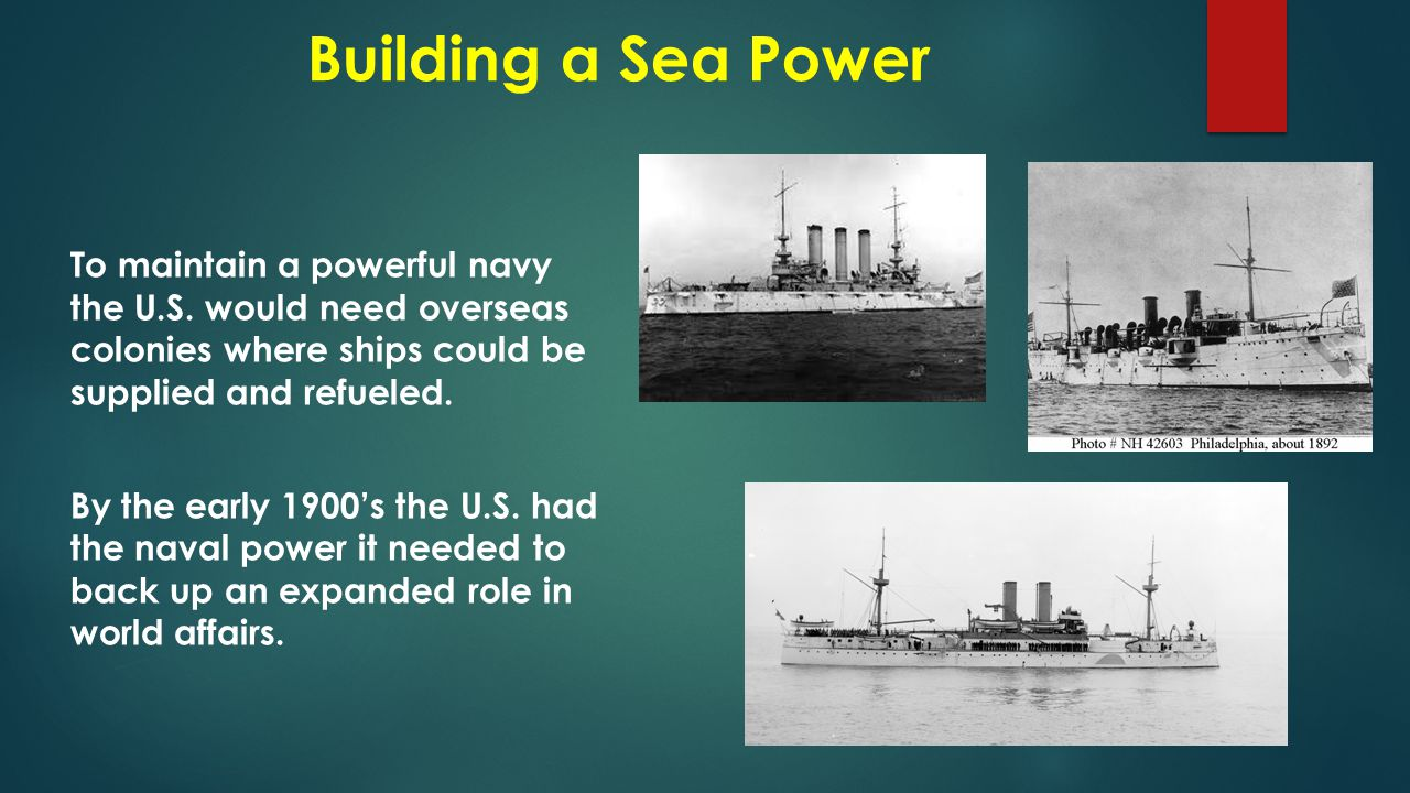 Building a Sea Power