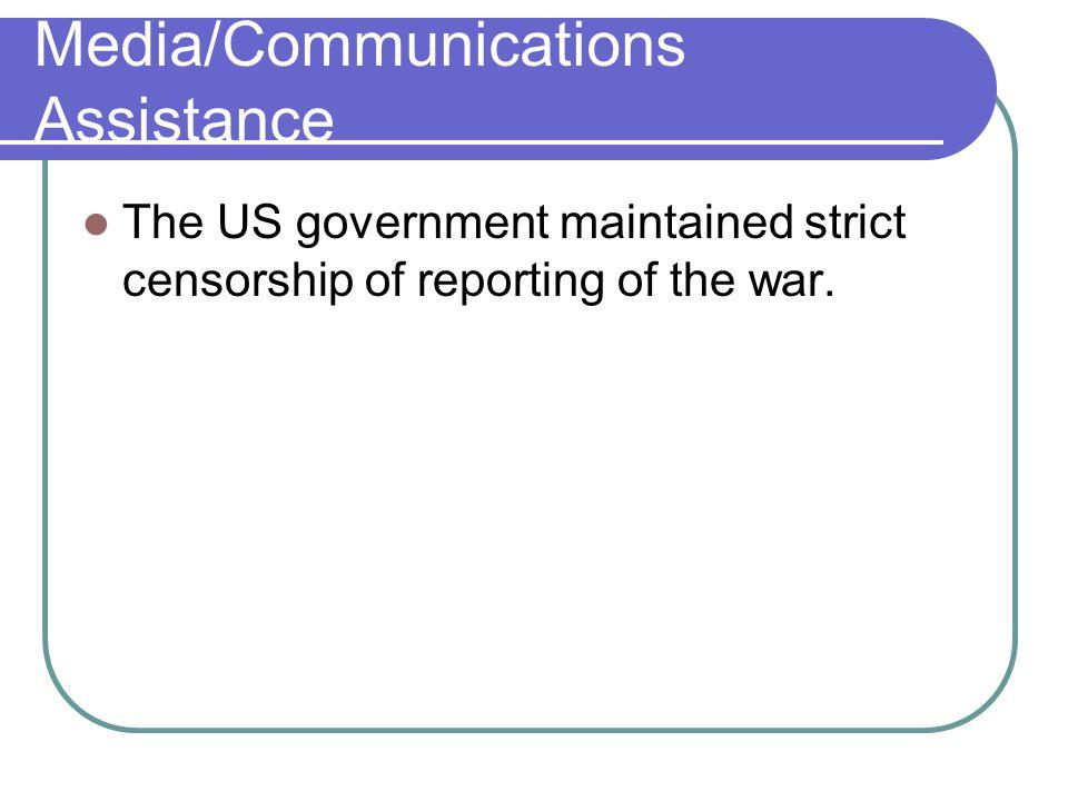 Media/Communications Assistance