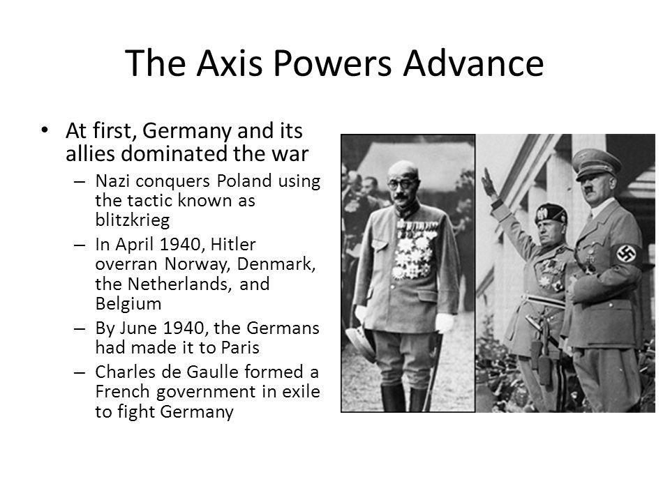 The Axis Powers Advance