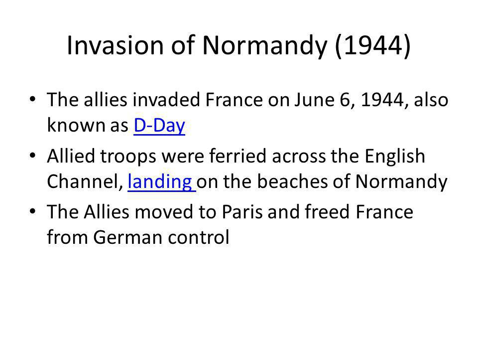 Invasion of Normandy (1944)
