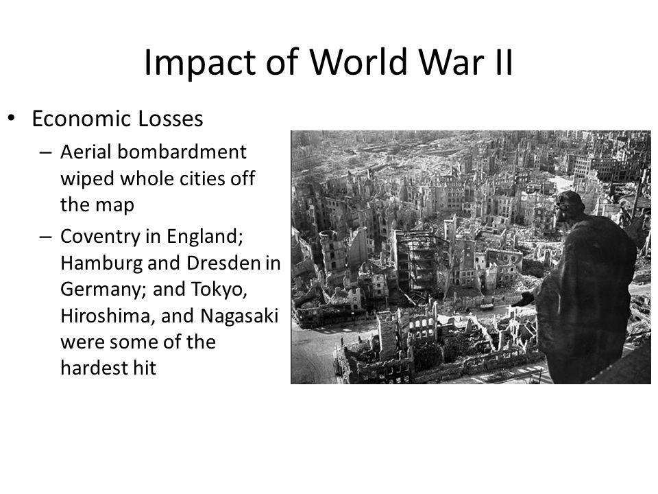 Impact of World War II Economic Losses