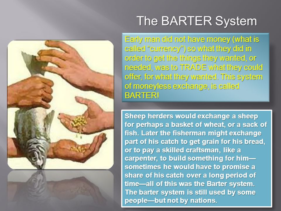 The BARTER System